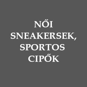 Női sneakersek, sportos cipők